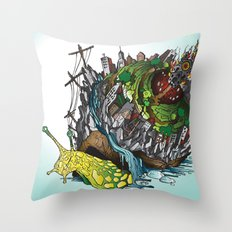 The Church is on Fire Throw Pillow