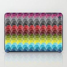 Hexagon Shades / Pattern #6 iPad Case