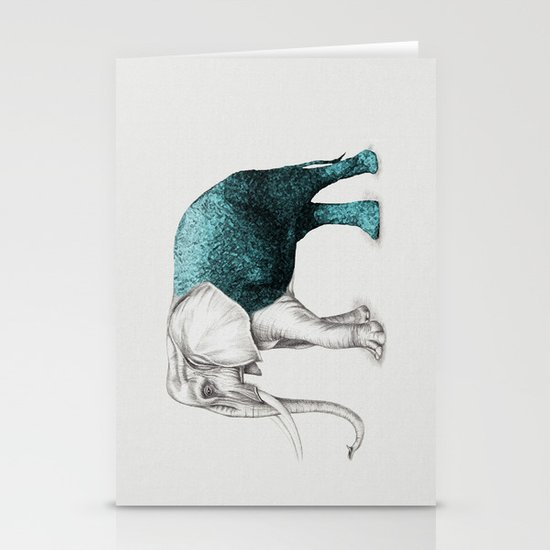The Stone Elephant Stationery Card