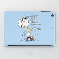 The Tiger In My Brain iPad Case