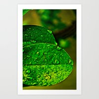 Greener Art Print
