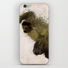 The Angry man iPhone & iPod Skin