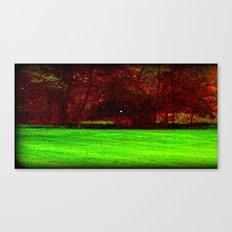 Red Trees 0ne Canvas Print
