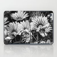 Desert Daisies (bnw) - Daisy Project in memory of Mackenzie iPad Case