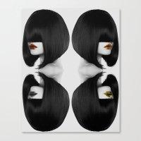 Primal Fashion Canvas Print