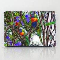 Abstract Beautiful Rainb… iPad Case