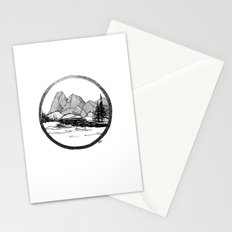 Enjoy the mountains Stationery Cards