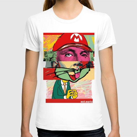 not mario T-shirt