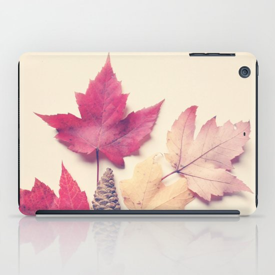 Red Maple Leaf Collection iPad Case