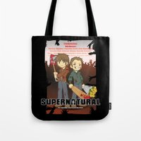 Supernatural - Goin To T… Tote Bag