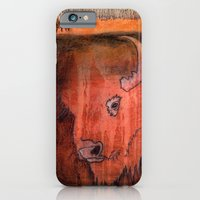 iPhone & iPod Case featuring Bison by Pat Butler