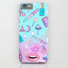 Girly Pastel Goth Witch Pattern iPhone 6 Slim Case