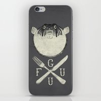 Eat me and/or Die! iPhone & iPod Skin