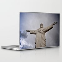 jesus Laptop & iPad Skins featuring Jesus by J. Benson Photography