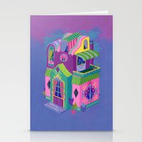 Balcony House Stationery Cards