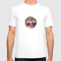 Liándonos Mens Fitted Tee White SMALL