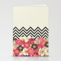 Summer Chevron Stationery Cards