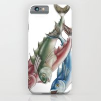 INKYFISH - Fish friends iPhone 6 Slim Case