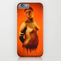 iPhone & iPod Case featuring Black Beauty  by    Amy Anderson