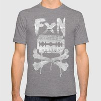 Fiction Design Mens Fitted Tee Tri-Grey SMALL
