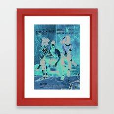 Wubble Wubble ANALOG zine Framed Art Print