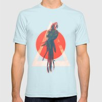 Para Mens Fitted Tee Light Blue SMALL