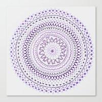 Mandala Smile C Canvas Print