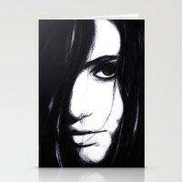 Look me in the eye. Stationery Cards