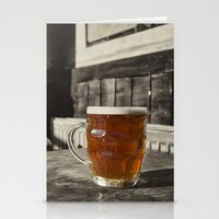 Pint in a Jug  Stationery Cards