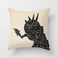 - liberty's walking - Throw Pillow