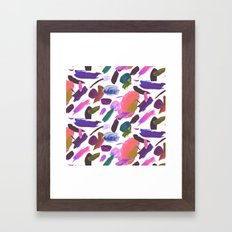 Lipstick Traces Framed Art Print