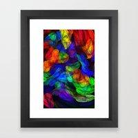 The Magic Of Color Framed Art Print