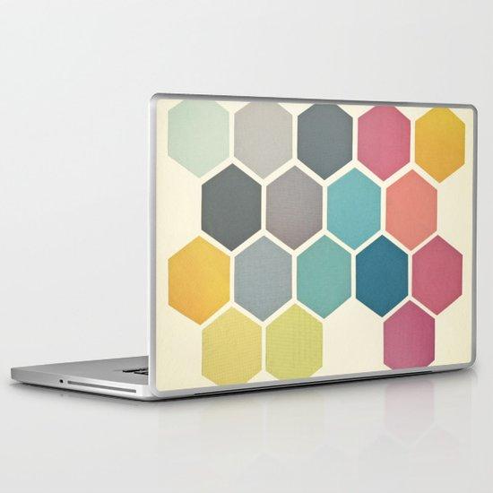 Honeycomb II Laptop & iPad Skin