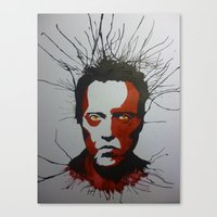 Walken Dead Canvas Print