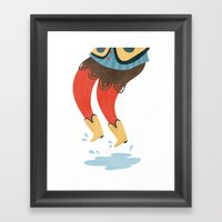This Boots Are Made For … Framed Art Print