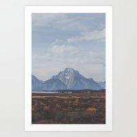 Wyoming XXX Art Print