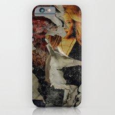 Peeling: Blonde Woman iPhone 6 Slim Case