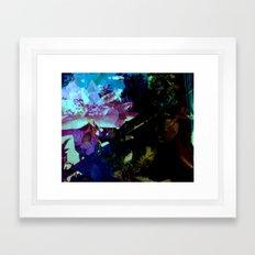 High Rose in the water Framed Art Print