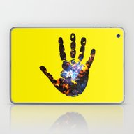 Laptop & iPad Skin featuring Hand Of The Universe by Spooky Dooky