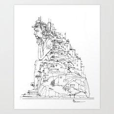 Trasposizione Art Print