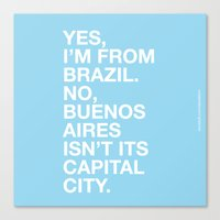 From Brazil II Canvas Print