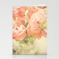 Peach bunch Stationery Cards