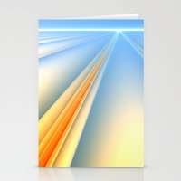 The Blinding Light of Day Stationery Cards