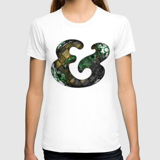 Ampersand Series - Cooper Std Typeface T-shirt