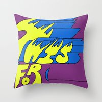 This is for (blank). Throw Pillow