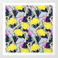 June Yellow Art Print
