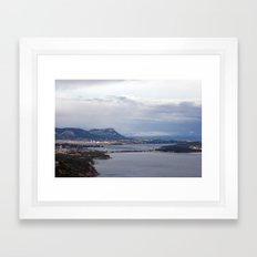 Toulon France 6662 Framed Art Print