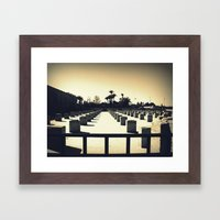 Koutoubia In Marrakesh Framed Art Print