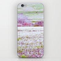 Flower Landscape iPhone & iPod Skin