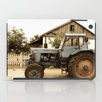 Old Tractor iPad Case